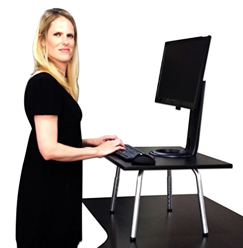 The Original Stand Steady Standing Desk - Converts Your Desk to Stand up Desk, Adjustable Height