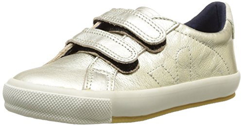 Veja  Esplar Velcro Leather,  Sneaker ragazza Oro Or (Gold) 34