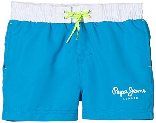 Pepe Jeans Jungen Shorts, JAVI, GR. 176 (Herstellergröße: 16 ans), Blau (Modern Blue)