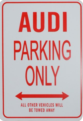 audi-parking-only-sign