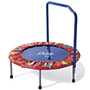 Pure Fun Kids Mini Trampoline (Multicolored, 36-Inch)