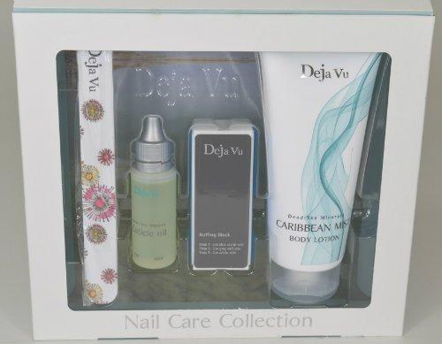 Deja Vu Nail Care Collection Kit: Body Lotion (Caribbean Mist ...
