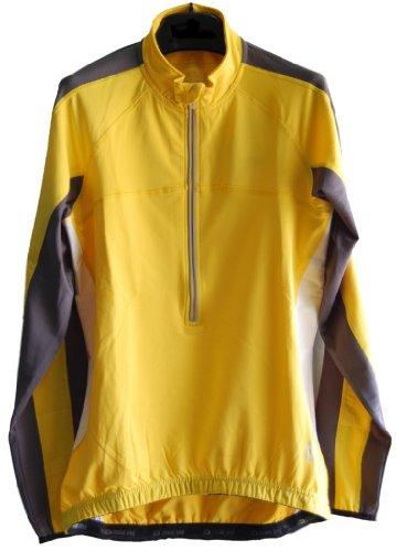 Men's Reflective Zipper Long Sleeved Bike Cycling Shirt Jersey