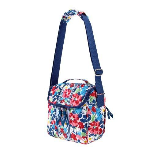 Amazon.com : Vera Bradley Camera Bag in Summer Cottage