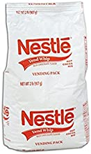 Nestle Hot Chocolate Mix Whip Cocoa - Vending Size - 2lb Bags - 12 Ct
