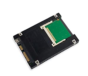 """Syba Best Connectivity 2.5"""" SATA/USB 2.0 to Compact Flash Adapter"""