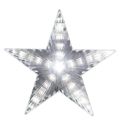 "Santas Gift Shop Star Tree Topper - 9"""