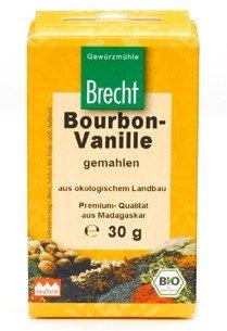 echtes Borubon-Vanillepulver Bio-Qualität