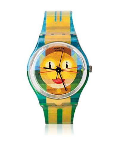 Swatch Reloj de cuarzo Unisex BOLD CAT 2 GE231 34 mm