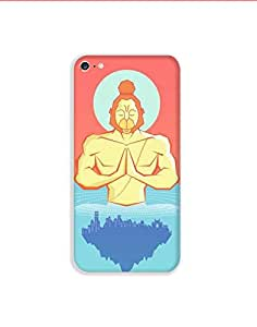 Apple Iphone 6 Plus nkt01 (72) Mobile Case from Mott2 - Hanuman Calm Holy Dip... (Limited Time Offers,Please Check the Details Below)