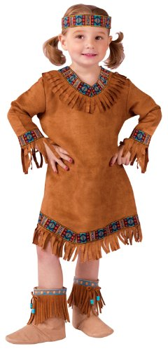 Costumes For All Occasions FW111021TS American Indian Girl Toddler 24M