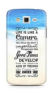 AMEZ life is like a camera Back Cover For Samsung Galaxy Grand 2 G7102