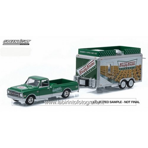 greenlight-1968-chevrolet-c-10-pickup-with-krispy-kreme-food-vendor-trailer-from-hitch-and-tow