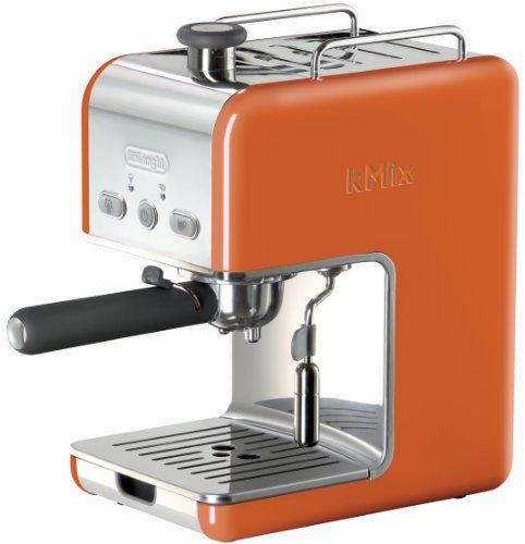 Delonghi Kmix Coffee Maker Reviews : Cuisinart Coffeemaker Reviews: DeLonghi Kmix 15 Bars Pump Espresso Maker, Orange