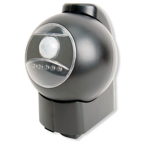 cordless motion activated outdoor light. Black Bedroom Furniture Sets. Home Design Ideas