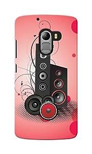 KnapCase Music Designer 3D Printed Case Cover For Lenovo A7010
