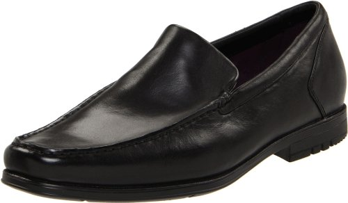 Rockport Men's Fairwood Moc Venetian Black Slip On Shoe K59381 13.5 UK, 14 US