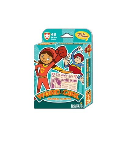 Briarpatch Wordgirl Colossal Gazette Card Game