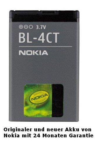 Batteria Originale Nokia BL-4CT (860 mAh - Li-ion - 3,7V) per Nokia 2720 Fold, 5310 XpressMusic, 5630 XpressMusic, 6600 Fold, 6700 Slide, 7210 Supernova, 7230, 7310 Supernova, X3,.. Garantia: 12 mesi / Foneshop