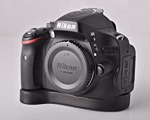 Grip Base Extension for Nikon D5100 - Made in USA by J.B. Camera Deigns