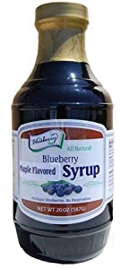 Blueberry Syrup 20oz. Maple Flavored