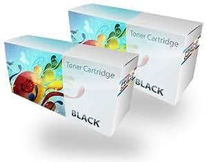 Prestige Cartridge ML1640 Cartouche de Toner pour Imprimante Laser Samsung ML-1640/ML-1641/ML-1642 - Noir lot de 2