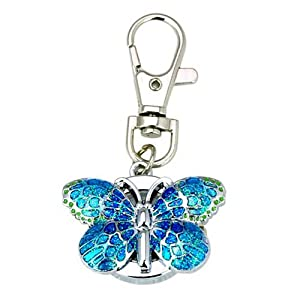 Absolute Butterfly Vintage Quartz Animal Keychain Pendant gift Buy 1 get 1
