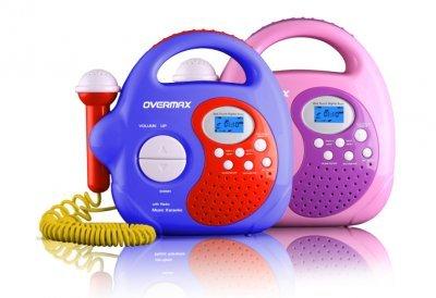 Overmax OV-KR-02 Karaoke Set Blue