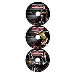 LES MILLS PUMP Ultimate Cross Training Deluxe DVDs