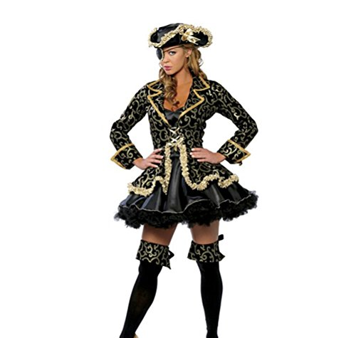 Women's Role Play Pirate Pirates Halloween Costume Party