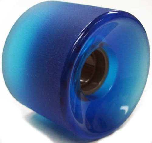 Buy Longboard Skateboard Wheels 65x51mm (Stone Ground Clear Blue) by Everland