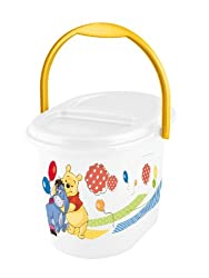 OKT Nappy Bin - Winnie The Pooh and Friends (White)
