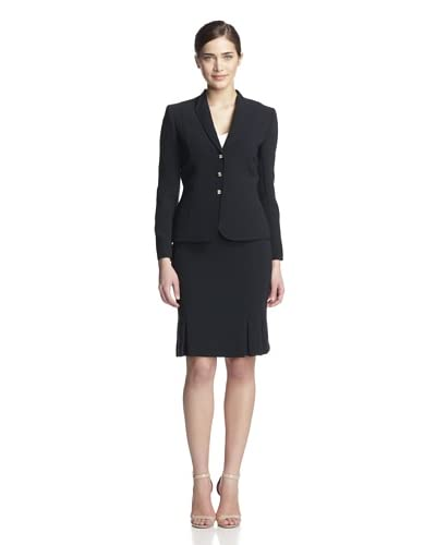 Tahari by ASL Women's Two-Piece Skirt Suit