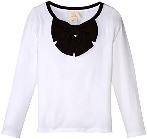 kate spade new york Girls Toddlers Bow Top, Cream, 5 (Kate Spade Tops compare prices)