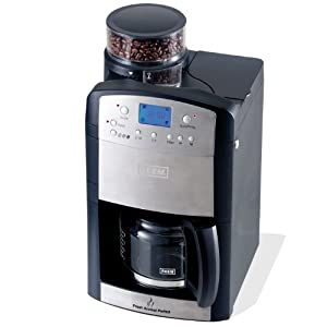 BEEM Germany  D2000.604 Fresh-Aroma-Perfect, Kaffeemaschine mit Mahlwerk