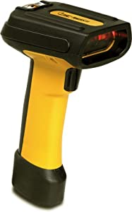 Powerscan 7000 sri industrial strength imaging scanner (2d, rs232, high density, us power supply and cable) - color: yellow/black