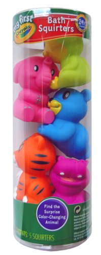 Crayola Bath Squirters, 5 Count