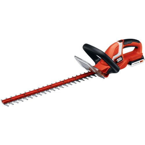 Black and Decker LHT2220 22-Inch 20-Volt Lithium Ion Cordless Hedge Trimmer,Includes 20v Battery