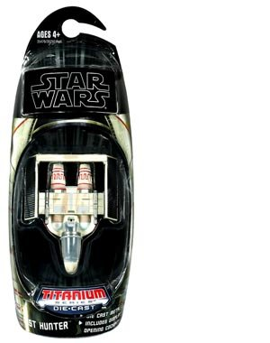 Star Wars 2010 Titanium DieCast Mini Vehicle Mist Hunter