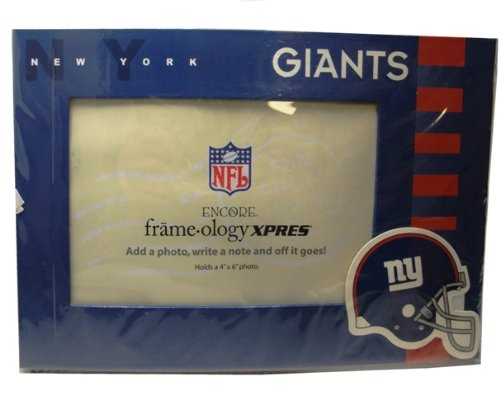 "Nfl New York Giants Photo Frame Greeting Card (Holds 4"" X 6"" Photo) front-871619"