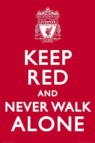 Football Posters: Liverpool FC – Keep Red – 91.5x61cm