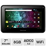 Visual Land Prestige 7 Internet Tablet 7-Inch Android 4.0 (Black)