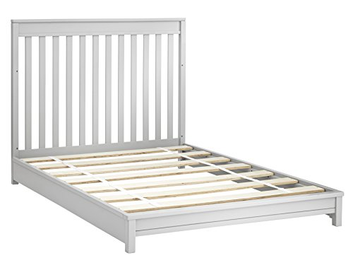 Sealy Bella Convertible Bed Rails, Tranquility Gray - 1