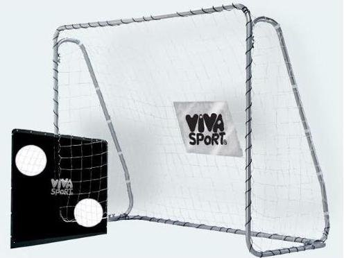 VIVA Sport Fußballtor mit Torwand 215 x 153 cm by Idee+Spiel