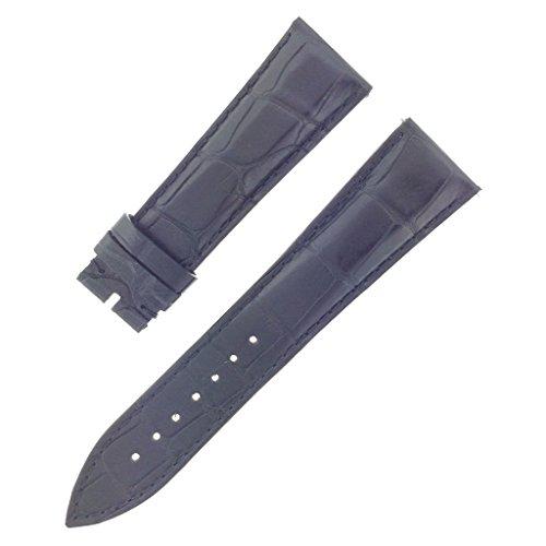franck-muller-22-18mm-genuine-alligator-leather-padded-black-watch-band