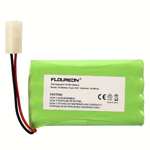 Floureon® High Capacity Replacement Battery For Rc Cars Robots With Tamiya Connector
