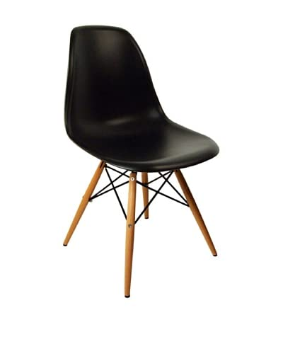 Stilnovo Mid-Century Eiffel Dining Chair, Black