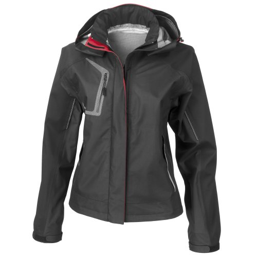 Spiro Womens/Ladies Nero Premium Outdoor Sports Jacket (Waterproof & Breathable)