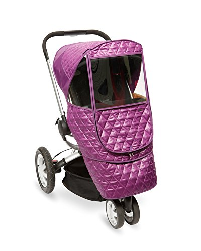 Manito Castle Beta Stroller Weather Shield (Purple) (Quilt For Stroller compare prices)