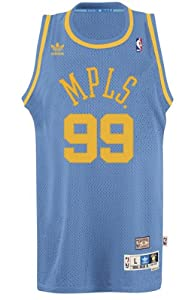 George Mikan Minneapolis Lakers Adidas NBA Throwback Swingman Jersey by adidas